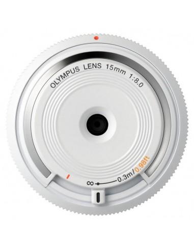 Olympus BCL-1580 MILC Laajakulmaobjektiivi Valkoinen Olympus V325010WE000 - 1