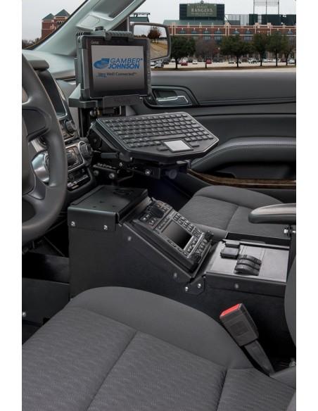 Gamber-Johnson 7170-0800 teline/pidike Aktiivinen teline Tabletti/UMPC Musta Gjohnson 7170-0800 - 4