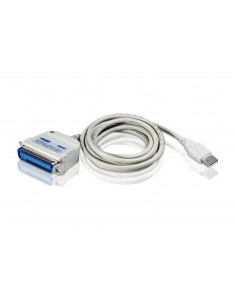 Aten UC1284B USB-kaapeli 1.8 m USB 1.1 A Valkoinen Aten UC1284B-AT - 1