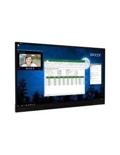 """Avocor F7550 190.5 cm (75"""") LED 4K Ultra HD Kosketusnäyttö Interaktiivinen litteä paneeli Musta Avocor F-7550 - 1"""