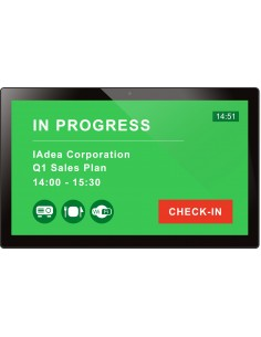 """Iadea XDS-2288 Platt skärm för digital skyltning 54.6 cm (21.5"""") IPS Full HD Svart Pekskärm Inbyggd processor Android 7.1 Iadea"""