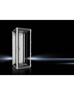 Rittal 5507.141 rack cabinet 42U Freestanding Black, Grey Rittal 5507141 - 1