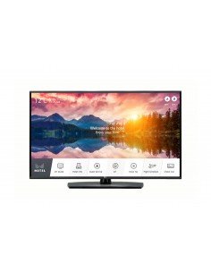"LG 49UT661H0ZA Tv-apparat för hotell 124.5 cm (49"") 4K Ultra HD 400 cd/m² Smart-TV Svart A 20 W Lg 49UT661H0ZA - 1"