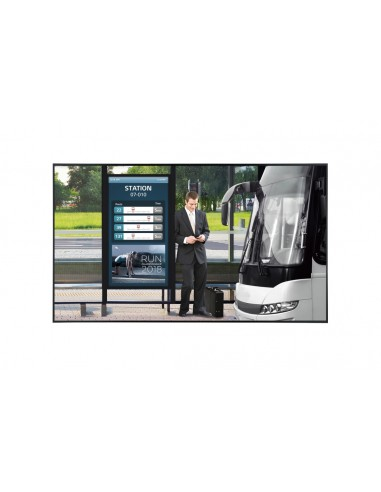 "LG 55XF3E-B signage display Digital flat panel 139.7 cm (55"") LCD Full HD Black Web OS Lg 55XF3E-B - 1"