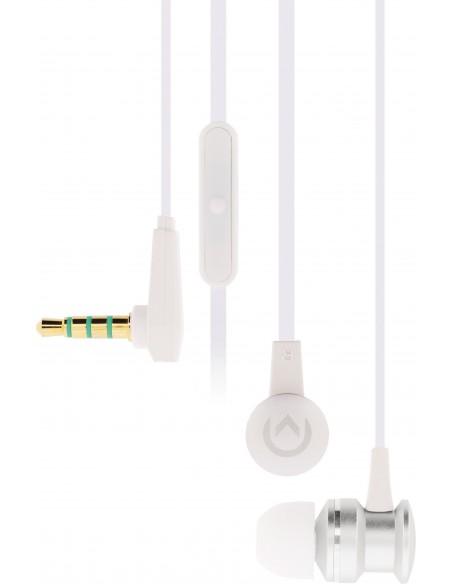 Mobilize MOB-21338 kuulokkeet ja kuulokemikrofoni In-ear Hopea, Valkoinen Mobilize MOB-21338 - 2