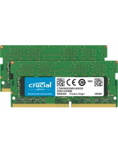 Crucial CT2K16G4S266M memory module 32 GB 2 x 16 DDR4 2666 MHz Crucial Technology CT2K16G4S266M - 1
