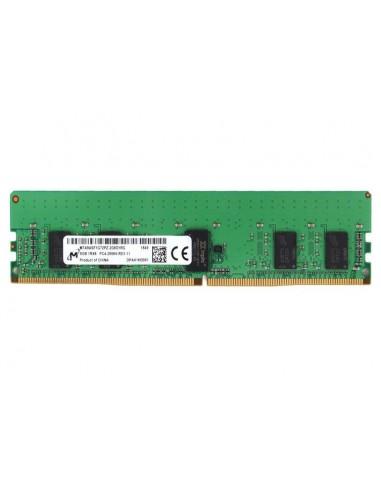 Micron MTA9ASF1G72PZ-2G6J1 memory module 8 GB 1 x DDR4 2666 MHz ECC Crucial Technology MTA9ASF1G72PZ-2G6J1 - 1