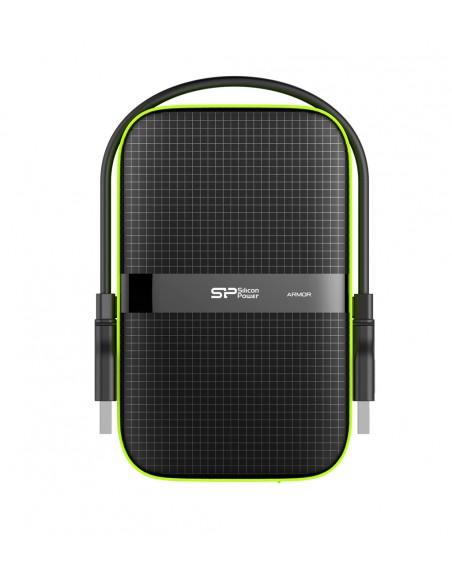 Silicon Power Armor A60 ulkoinen kovalevy 1000 GB Musta Silicon Power SP010TBPHDA60S3K - 2