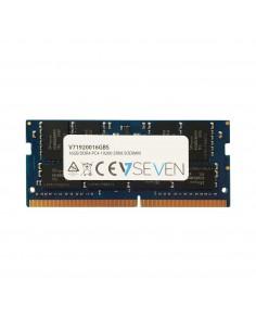 V7 16GB DDR4 PC4-19200 - 2400MHz SO-DIMM Notebook Memory Module V71920016GBS V7 Ingram Micro V71920016GBS - 1