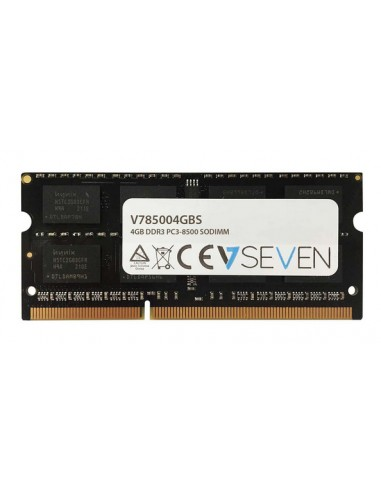 V7 V785004GBS muistimoduuli 4 GB 1 x DDR3 1066 MHz V7 Ingram Micro V785004GBS - 1