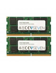 V7 16GB DDR4 PC4-17000 - 2133MHz SO-DIMM Notebook Memory Module V7K1700016GBS V7 Ingram Micro V7K1700016GBS - 1