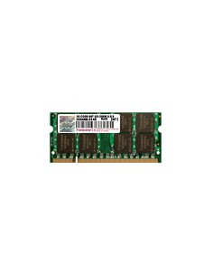 Transcend DDR2-667 1GB JM667QSU-2G muistimoduuli 667 MHz Transcend JM667QSU-1G - 1