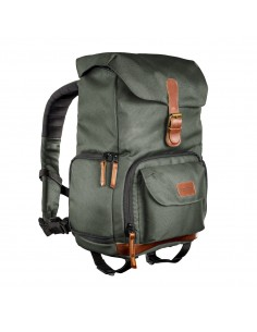 Mantona Luis junior backpack Leather,Metal,Polyester,Synthetic Brown,Green Mantona 21491 - 1