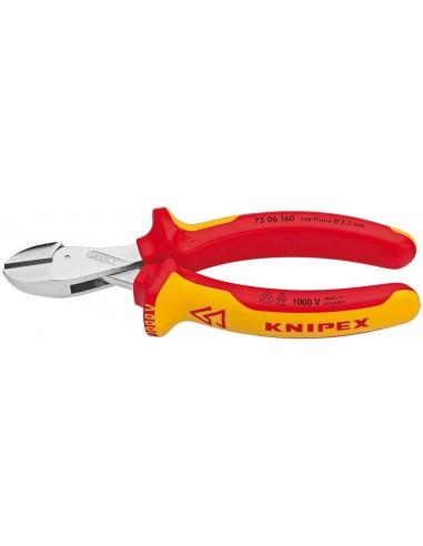 Knipex X-Cut Pihdit viistolla leikkauspinnalla Knipex 73 06 160 - 1