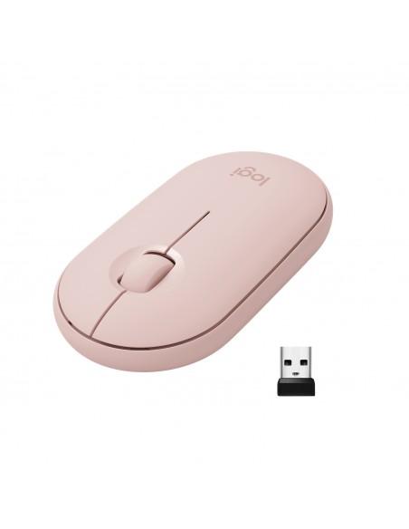 Logitech Pebble M350 hiiri Langaton RF + Bluetooth Optinen 1000 DPI Molempikätinen Logitech 910-005717 - 5