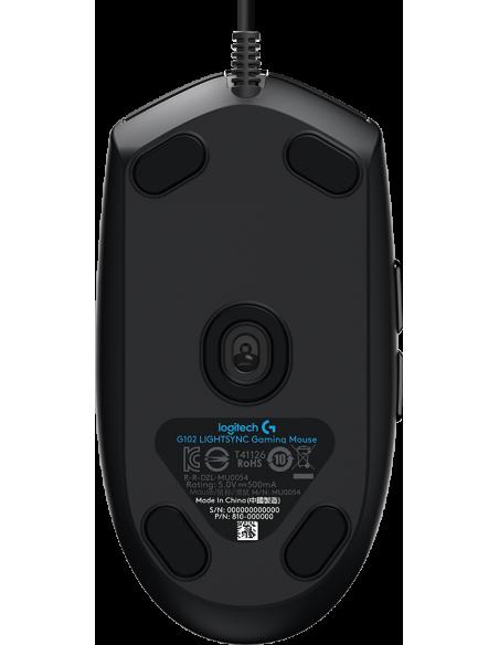 Logitech G G102 LightSync mouse USB Type-A 8000 DPI Logitech 910-005823 - 4