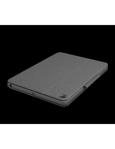 Logitech Combo Touch mobiililaitteiden näppäimistö QWERTZ Sveitsi Grafiitti Smart Connector Logitech 920-009609 - 5