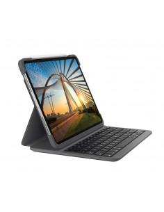 Logitech Slim Folio Pro mobile device keyboard QWERTY Nordic Graphite Bluetooth Logitech 920-009688 - 1