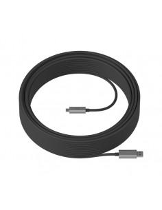 Logitech Strong USB-kaapeli 10 m 3.2 Gen 2 (3.1 2) USB A C Musta Logitech 939-001799 - 1