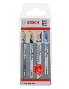 Bosch 2 607 011 437 kuviosahan, lehtisahan & puukkosahan terä Kuviosahanterä 15 kpl Bosch 2607011437 - 1