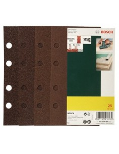 Bosch 2 607 019 495 Sliptillbehör 25 styck Bosch 2607019495 - 1