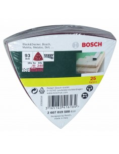 Bosch 2 607 019 500 sander accessory 25 pc(s) Bosch 2607019500 - 1