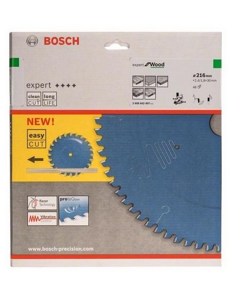 Bosch 2 608 642 497 cirkelsågsblad 21.6 cm 1 styck Bosch 2608642497 - 2