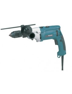 Makita HP2071J porakone 2900 RPM Avaimeton 2.5 kg Musta, Sininen, Hopea Makita HP2071J - 1