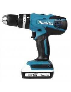 Makita HP457DWE drill Keyless 1.7 kg Black, Blue Makita HP457DWE - 1