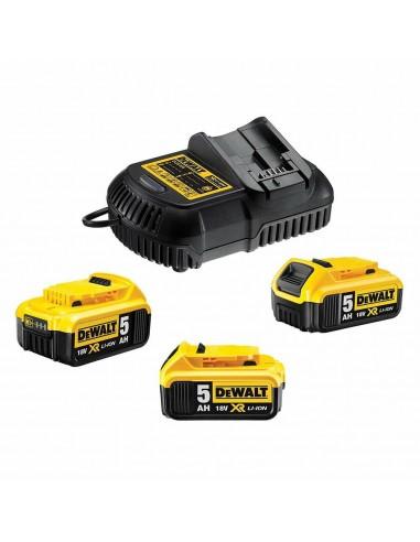 DeWALT DCB115P3-QW fordonsbatteriladdare Svart, Gul Dewalt DCB115P3-QW - 1