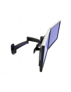 "Ergotron 200 Series Dual Monitor Arm 55.9 cm (22"") Black Ergotron 45-231-200 - 1"