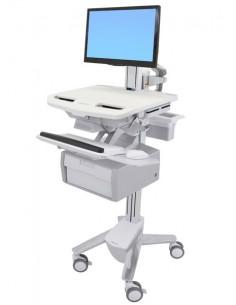Ergotron StyleView White Flat panel Multimedia cart Ergotron SV43-13B0-0 - 1