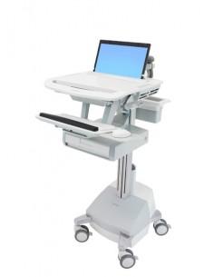 Ergotron StyleView Aluminium, Grey, White Notebook Multimedia cart Ergotron SV44-1111-2 - 1