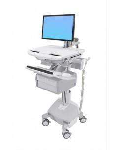 Ergotron StyleView Valkoinen Litteä paneeli Multimediakärry Ergotron SV44-12C2-2 - 1