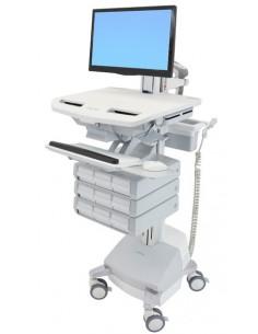 Ergotron SV44-1391-C multimedia cart/stand Aluminium, Grey, White Flat panel Ergotron SV44-1391-C - 1