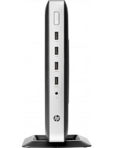 HP t630 2 GHz GX-420GI Windows Embedded Standard 7E 1.52 kg Musta, Hopea Hp 3JG94EA#AK8 - 1