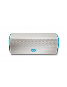 HP Roar Blue Wireless Speaker Valkoinen, Sininen 15 W Hp F6S97AA - 1