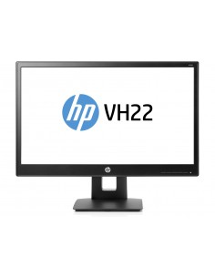 "HP VH22 54.6 cm (21.5"") 1920 x 1080 pixels Full HD LED Black Hp X0N05AA#ABB - 1"