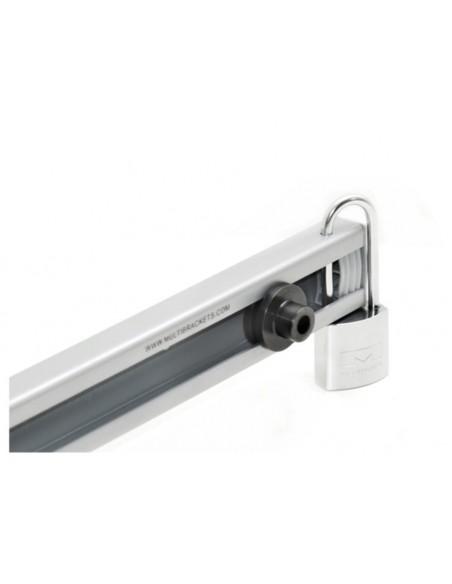 Multibrackets 0137 lås Konventionellt hänglås 2 styck Multibrackets 7350022730137 - 2