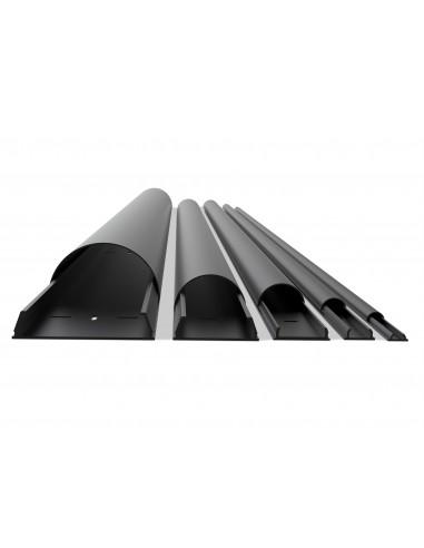 Multibrackets 1318 kaapelisuojain Kaapelin hallinta Musta Multibrackets 7350022731318 - 1