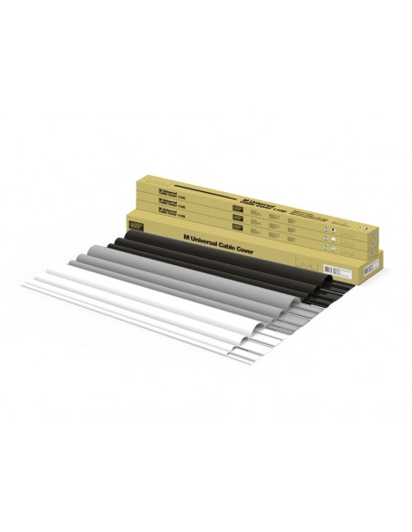 Multibrackets 1318 kabelskydd Sladdhantering Svart Multibrackets 7350022731318 - 8