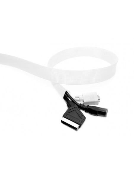 Multibrackets 1691 kaapelinjärjestäjä Kaapelisukka Valkoinen 1 kpl Multibrackets 7350022731691 - 2