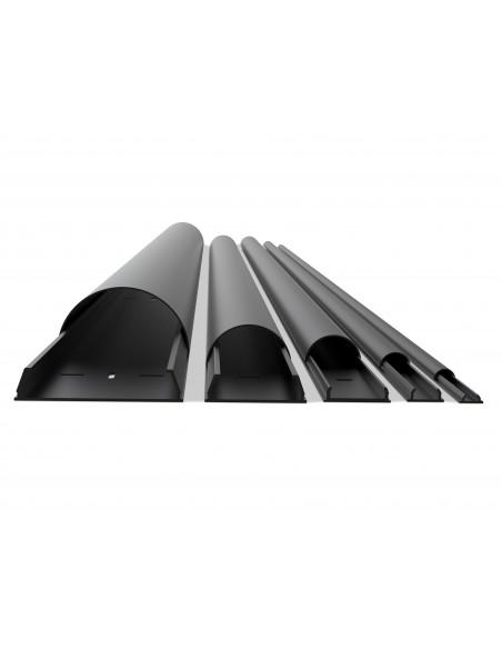 Multibrackets 2179 kaapelisuojain Kaapelin hallinta Musta Multibrackets 7350022732179 - 1