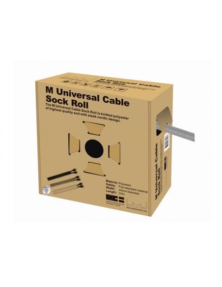 Multibrackets M Universal Cable Sock Roll Silver 40mm-W 50m-L Multibrackets 7350022732476 - 1