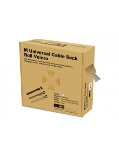 Multibrackets M Cable Sock Roll Velcro Silver 50m-L Multibrackets 7350022732841 - 1
