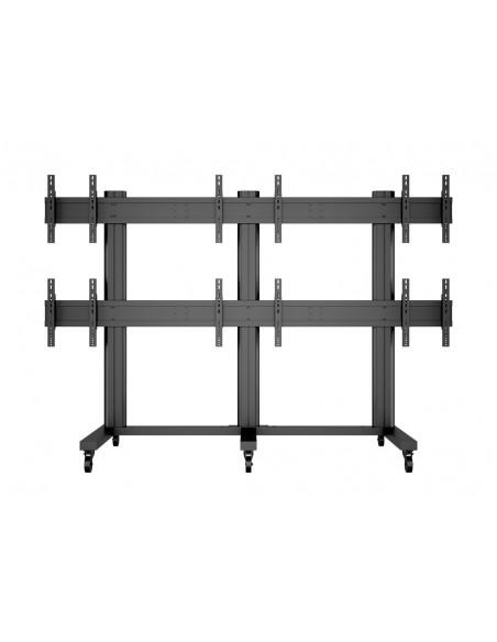 """Multibrackets 9727 kyltin näyttökiinnike 139.7 cm (55"""") Musta Multibrackets 7350022739727 - 2"""