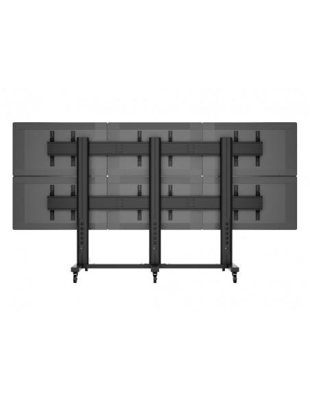 "Multibrackets M Public Video Wall Stand 6-Screens 40-55"" Black Multibrackets 7350022739727 - 10"