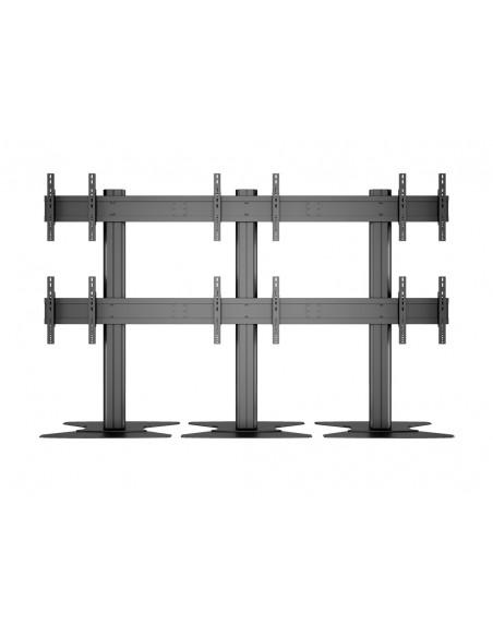 """Multibrackets 9727 kyltin näyttökiinnike 139.7 cm (55"""") Musta Multibrackets 7350022739727 - 14"""