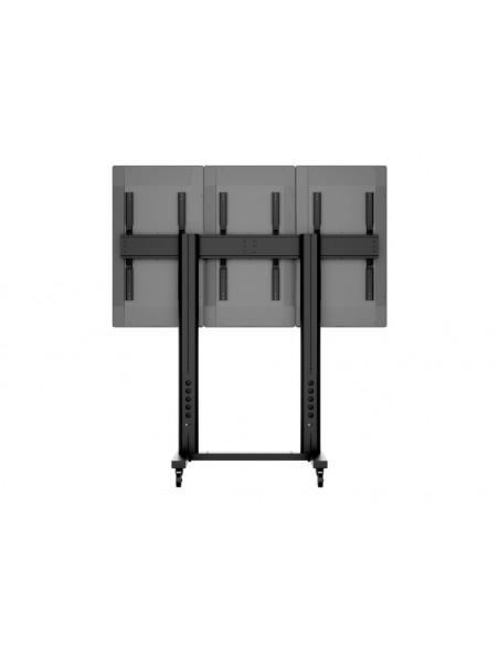 Multibrackets M Public Video Wall Stand Portrait 3-Screens 40-55'' Black Multibrackets 7350073731800 - 10