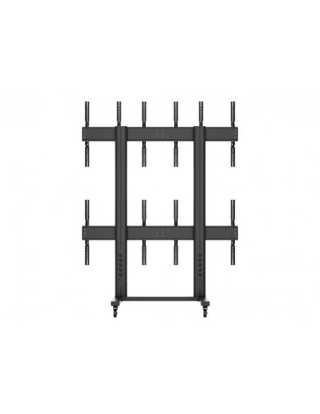 """Multibrackets 1824 fäste för skyltningsskärm 139.7 cm (55"""") Svart Multibrackets 7350073731824 - 4"""